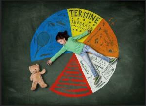 Zeitliche Belastung: 85,6 Prozent der gestressten Kinder müssen Termine wahrnehmen, die ihnen keinen Spaß machen. 61,4 Prozent der Kinder mit hohem Stress äußern zudem den Wunsch, mehr Zeit für Dinge zu haben, die ihnen Spaß bereiten.